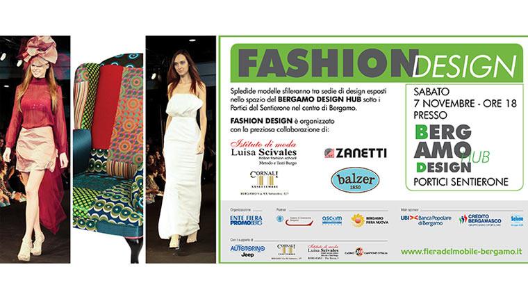 Moda design al bergamo design hub spin off del salone for Fiera del mobile a bergamo