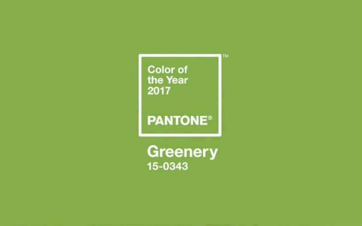 "...AND THE COLOR IS: ""GREENERY""!"