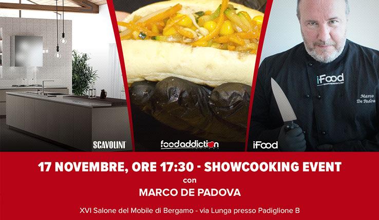 Show Cooking allo stand SCAVOLINI by Arredamenti Maggioni.