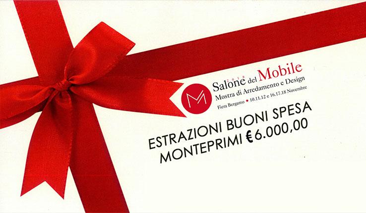 Ecco i Nomi dei Fortunati Visitatori del Salone Del Mobile che hanno Vinto un Buono Spesa di 1.500 Euro